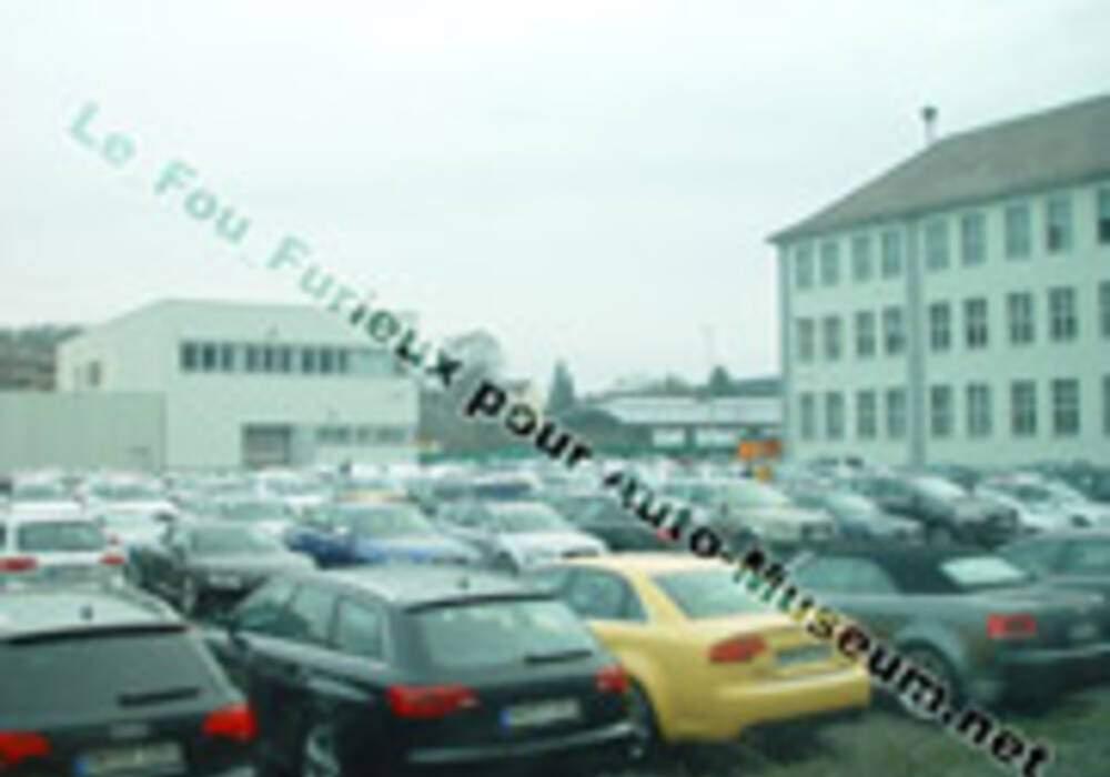 Spyshot Audi RS6 Avant et Berline et Q7 V12 TDi