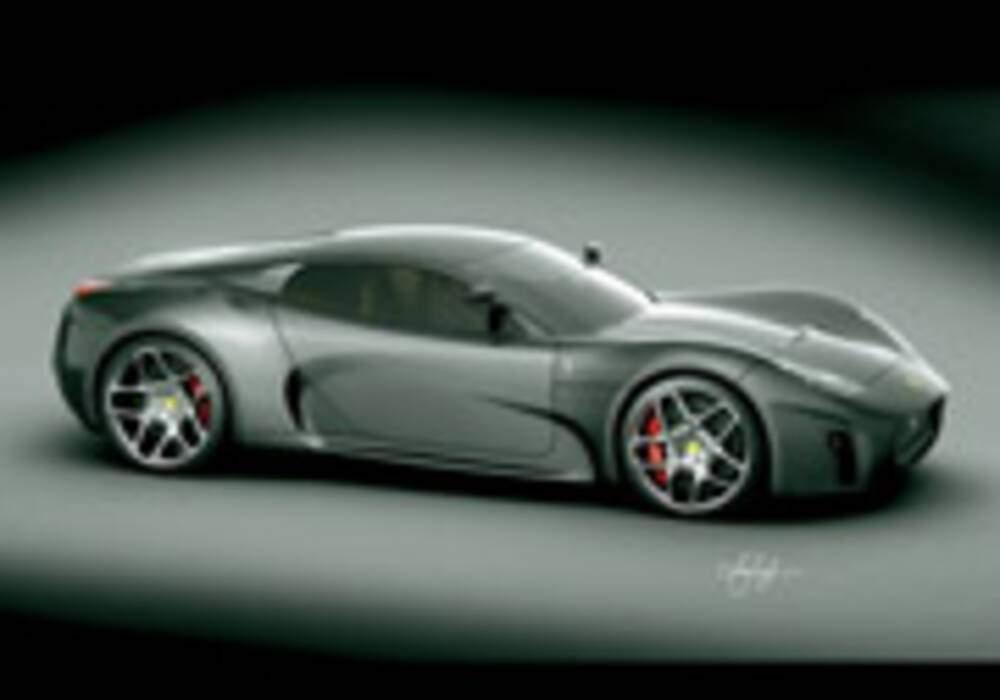 Ferrari Concept 2008, par Luca Serafini