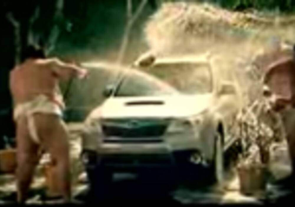 Publicité : Subaru Forester 2008