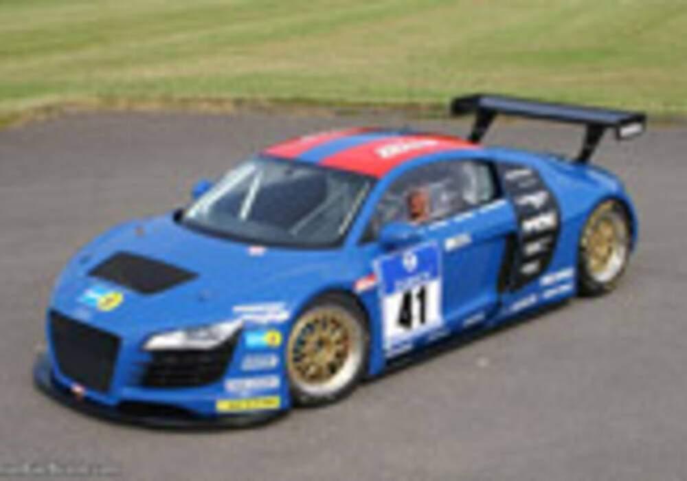 Audi R8 pour les 24 heures du Nürburgring