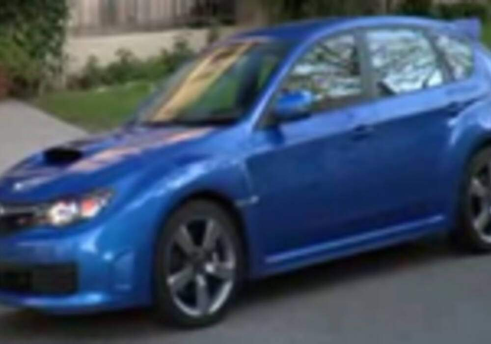 Vidéo : Subaru Impreza STi