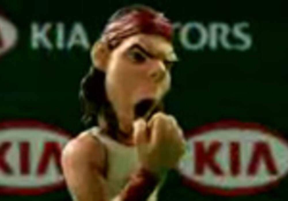 Vidéo : Rafaël Nadal vs Alien