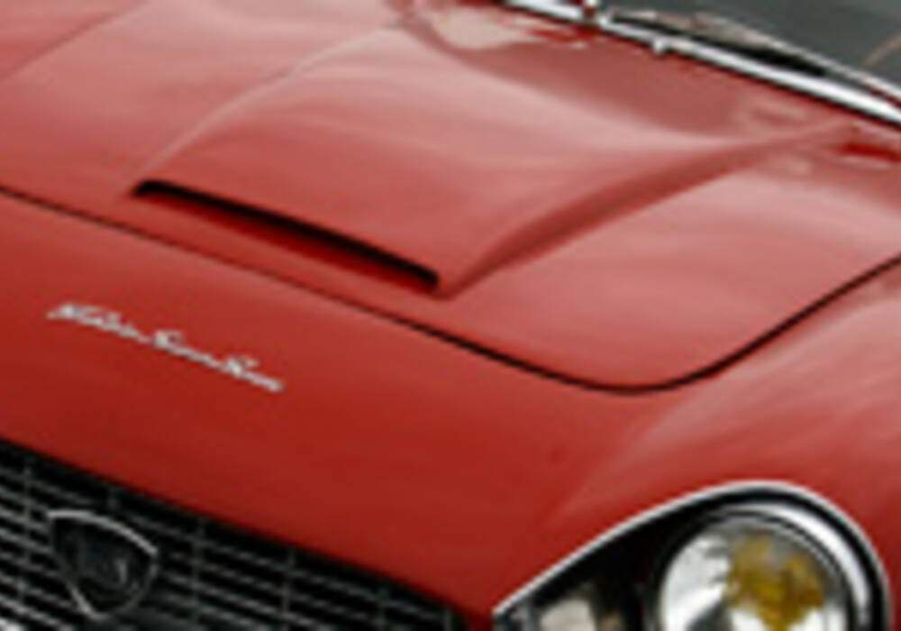 Lancia Flaminia 2800 SuperSport Zagato présente au Vigeant