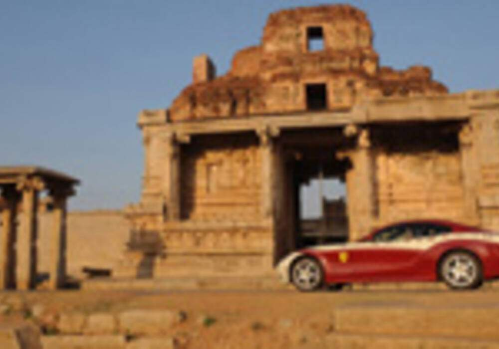 L'album photo du voyage : Ferrari Magic India Discovery 2008