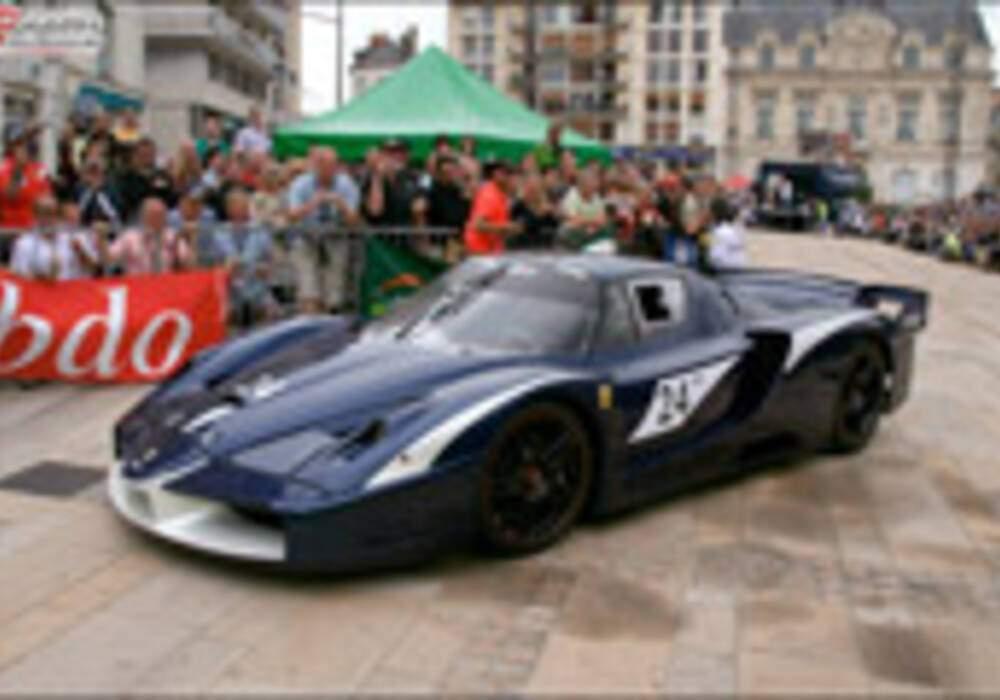 24 heures du Mans, la parade : Ferrari FXX Evoluzione