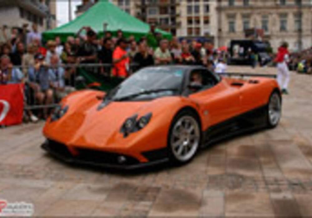 24 heures du Mans, la parade : Pagani Zonda F Clubsport