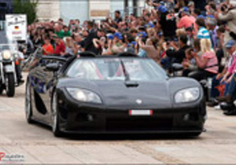 24 heures du Mans, la parade : Koenigsegg CCX-R Edition