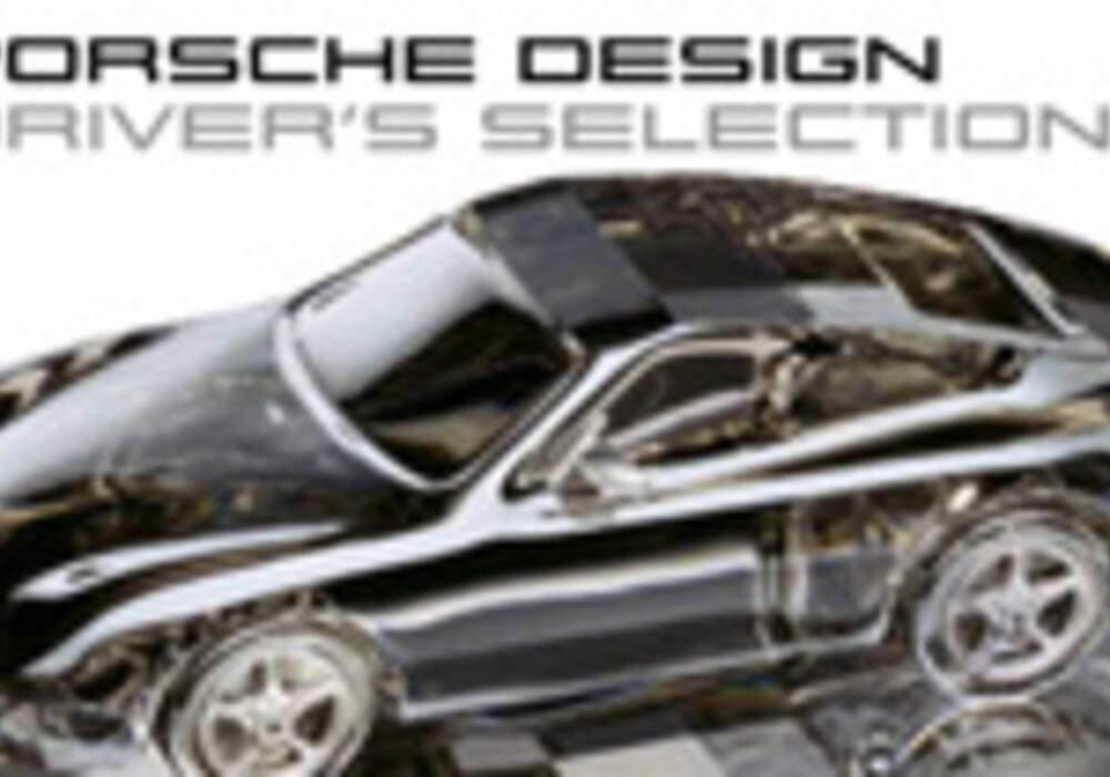 Deux modèles de Porsche en cristal Swarovski