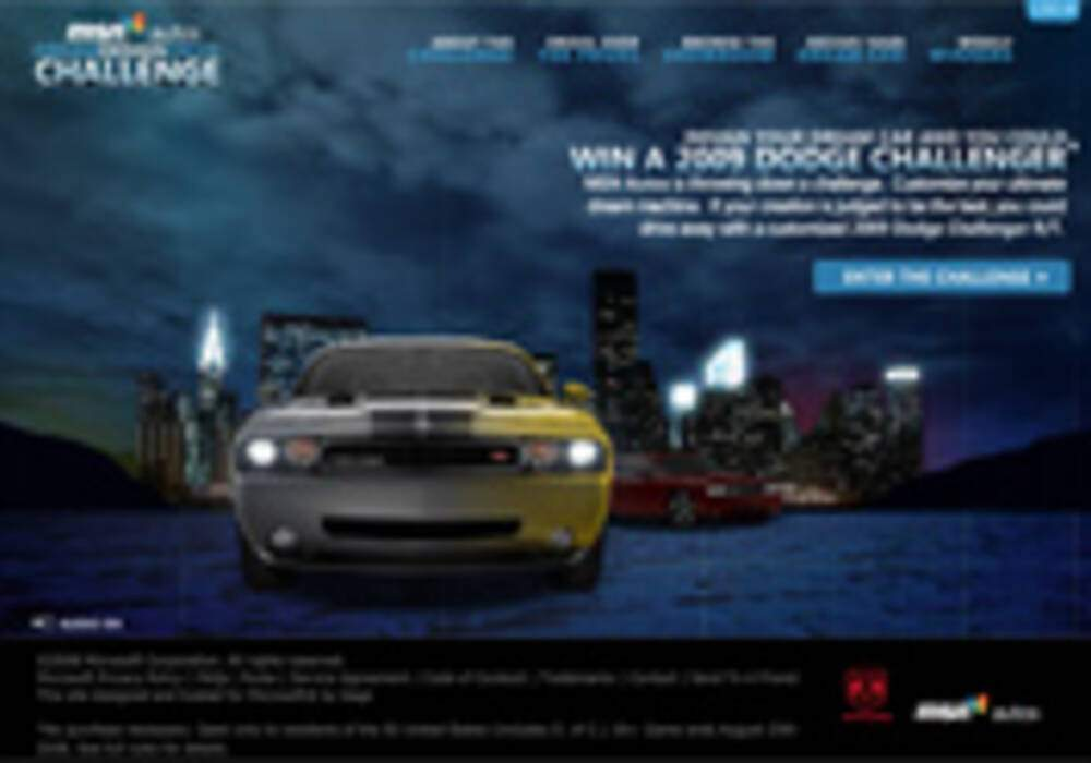 Concours, gagner une Dodge Challenger R/T 2009