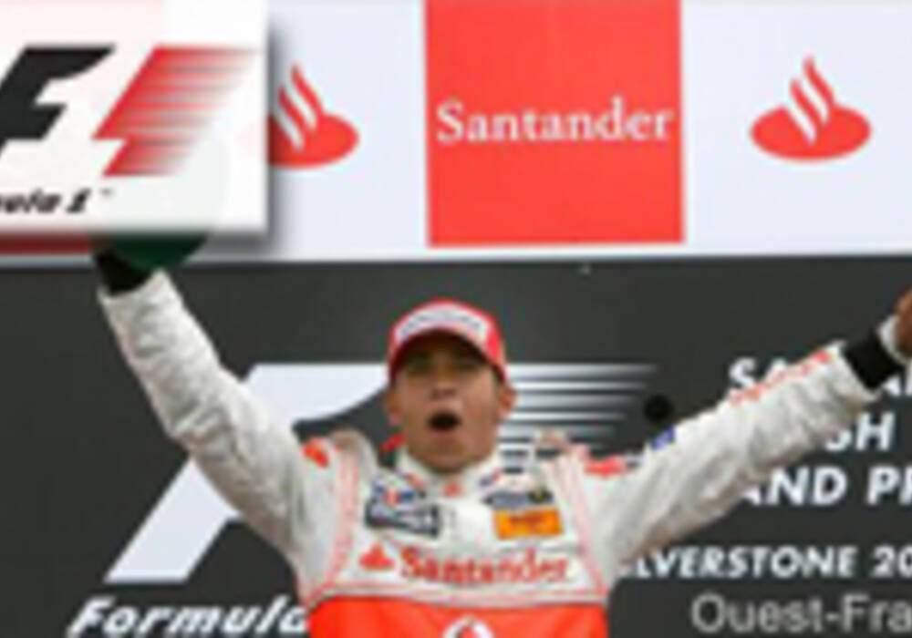 Grand-Prix de Grande-Bretagne : Hamilton roi de la pluie à domicile