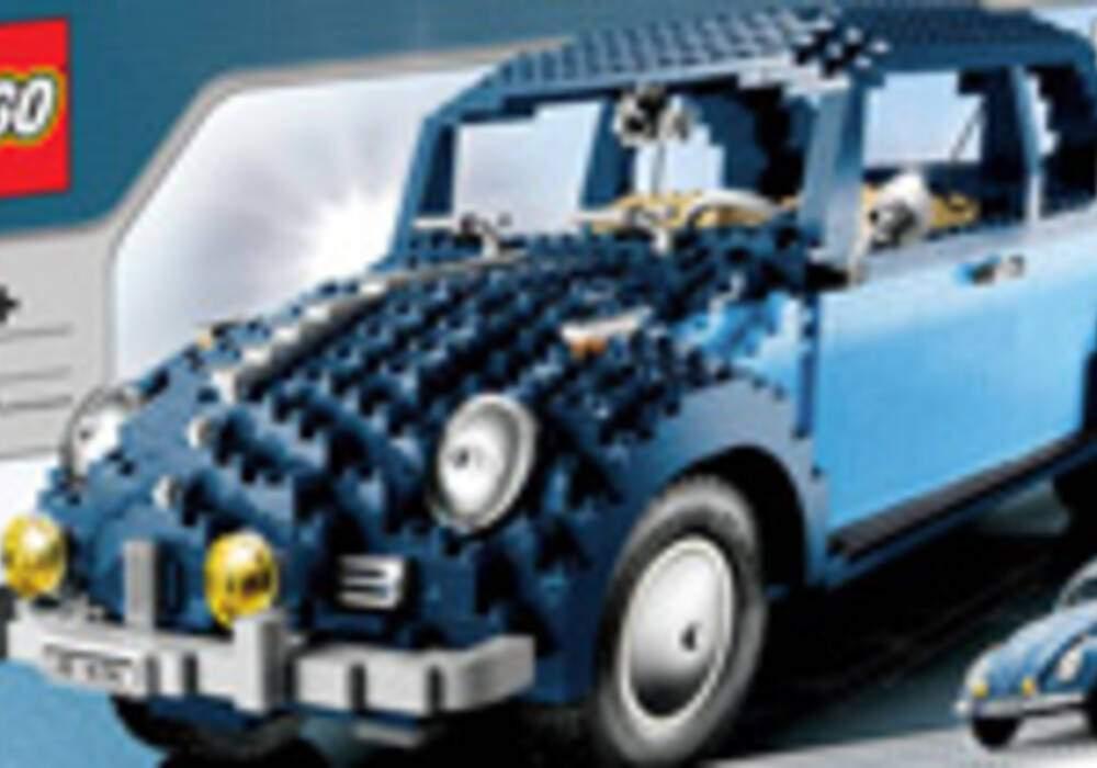 La Coccinelle Volkswagen en LEGO