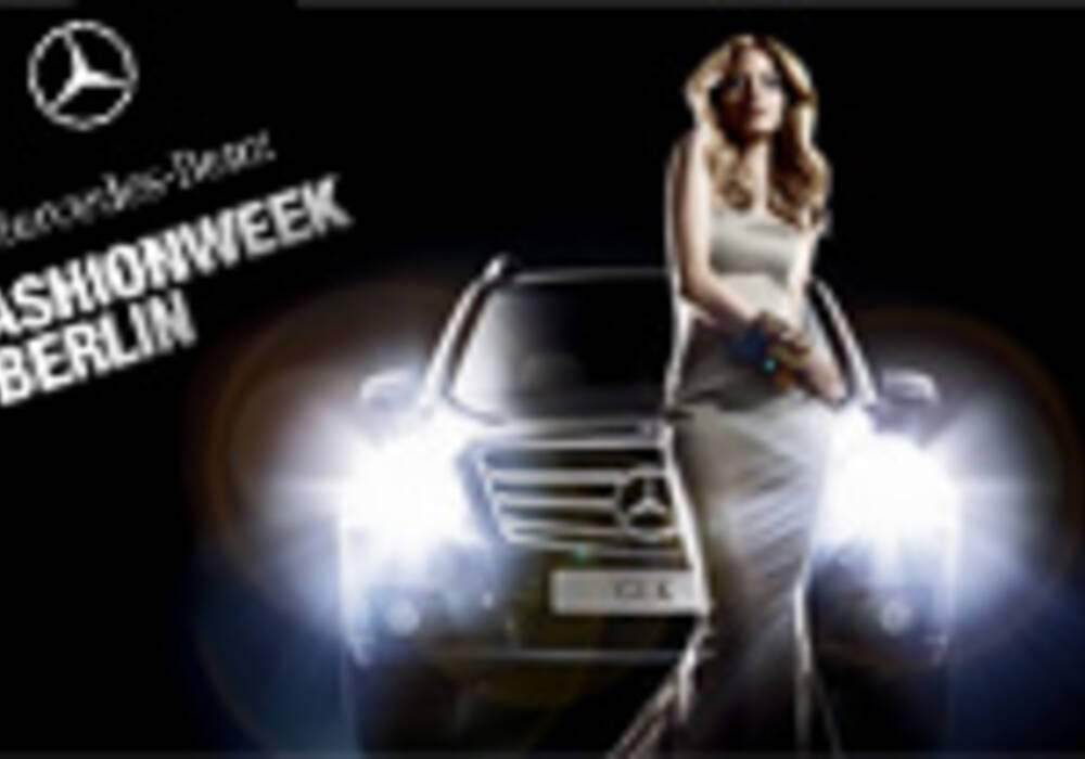 Mercedes & Models « Fashion Week 2008 »