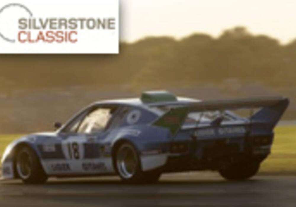 Silverstone Classic: Une pléiade de stars