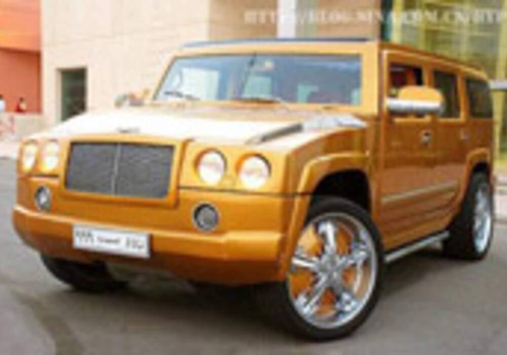 Un Hummer à la sauce Bentley à Dubaï