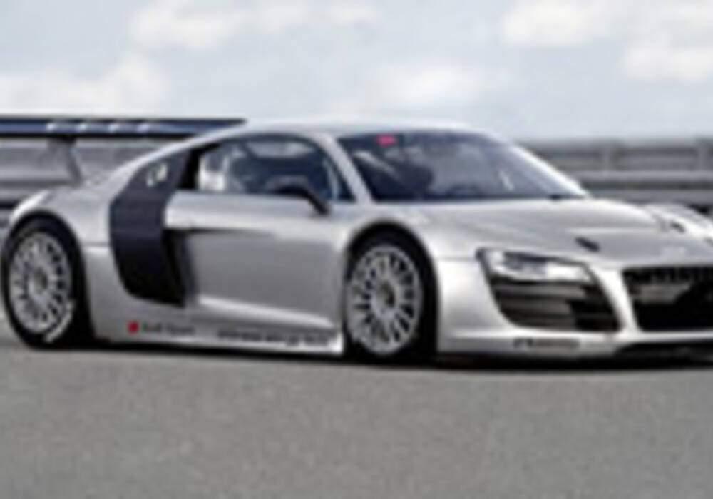 L'Audi R8 GT3 sur circuit fin 2009