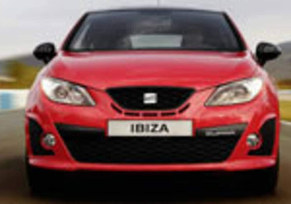 Seat dévoile une version Cupra pour sa nouvelle Ibiza