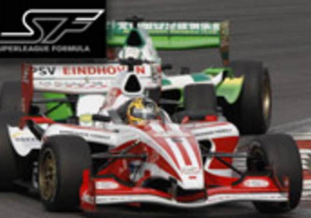 Superleague Formula: Doornbos et Buurman s'imposent au Nürburgring