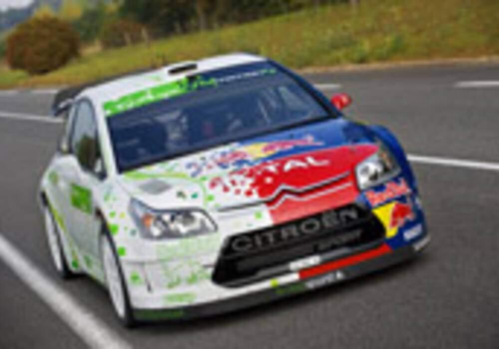 Citroën C4 WRC HYmotion4, le rallye écolo