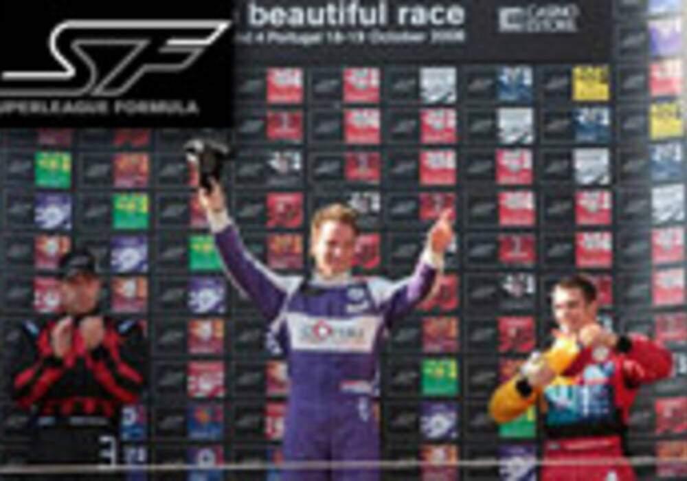 Superleague Formula: Adrian Valles et Paul Meijer victorieux à Estoril