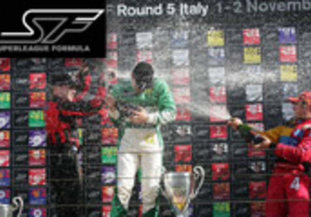 Superleague Formula: Davide Rigon et Tristan Gommendy vainqueurs