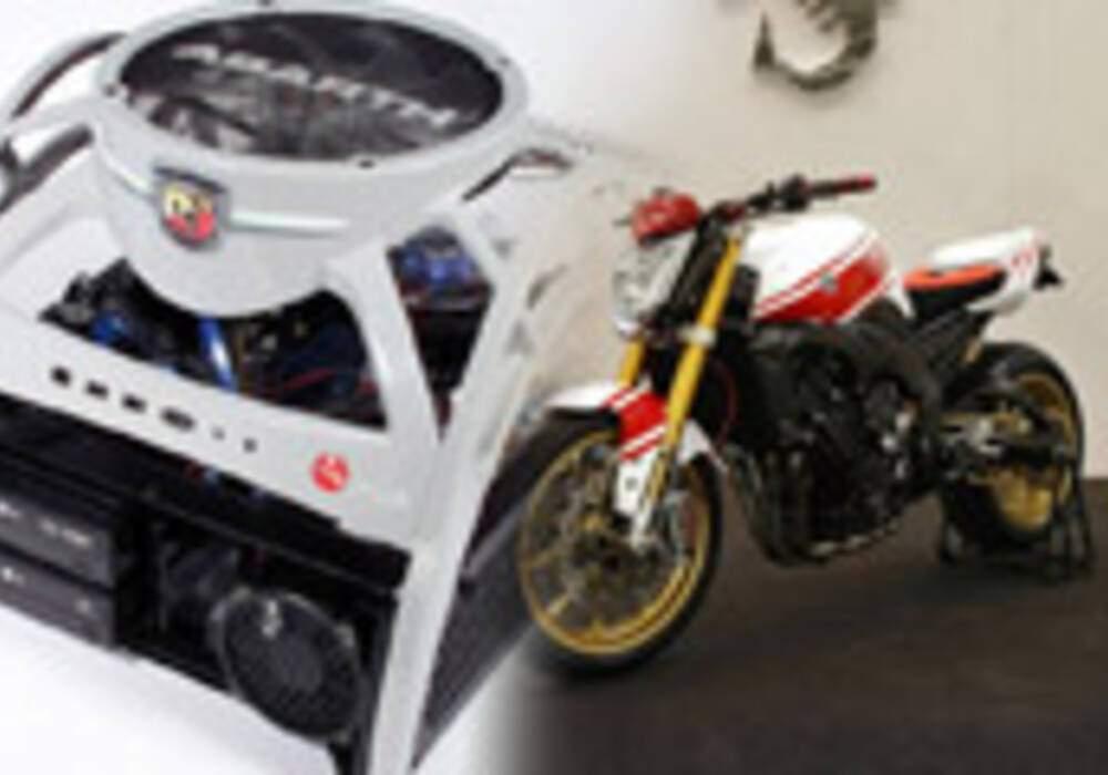 Abarth présente un PC et une moto