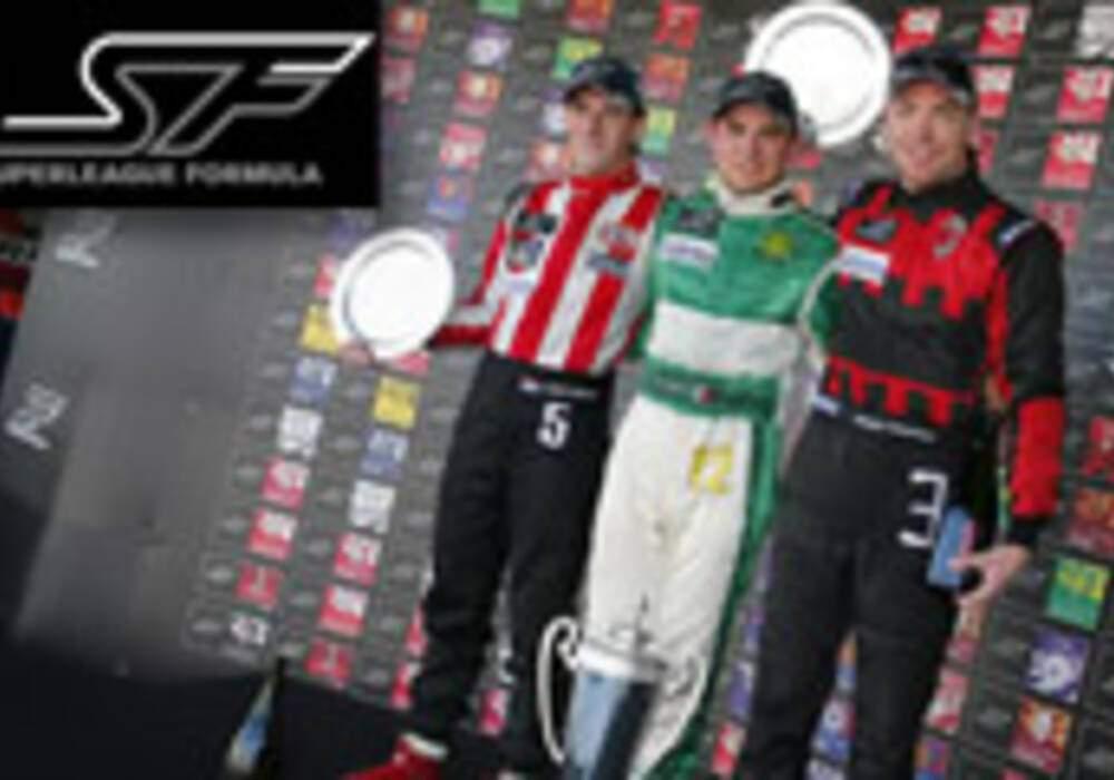 Superleague Formula: Le Beijing Guoan champion