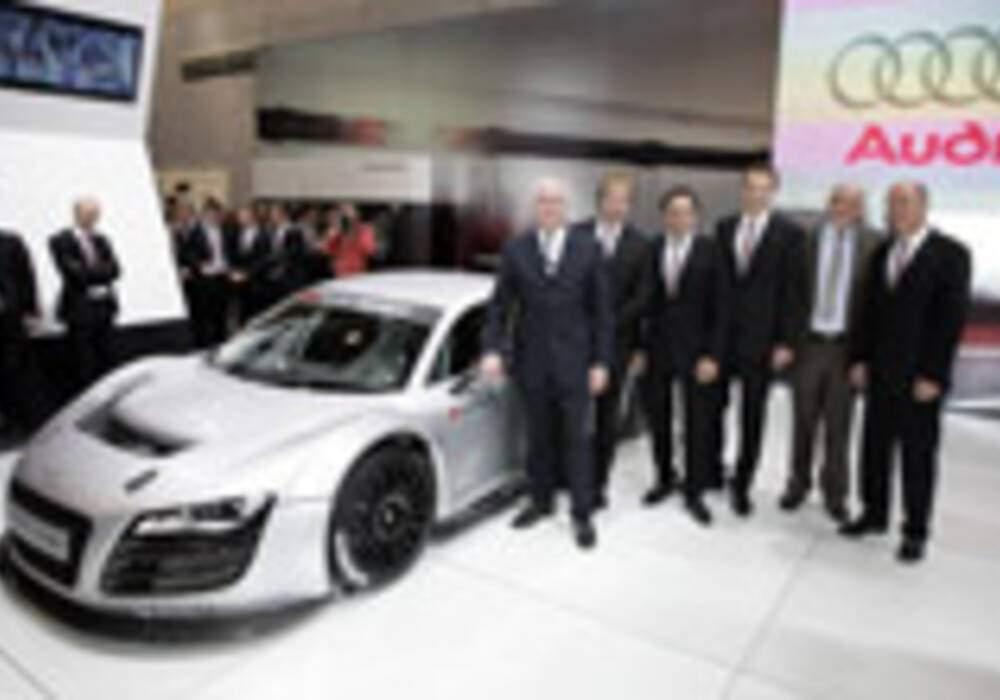Audi: Un programme sportif chargé pour 2009