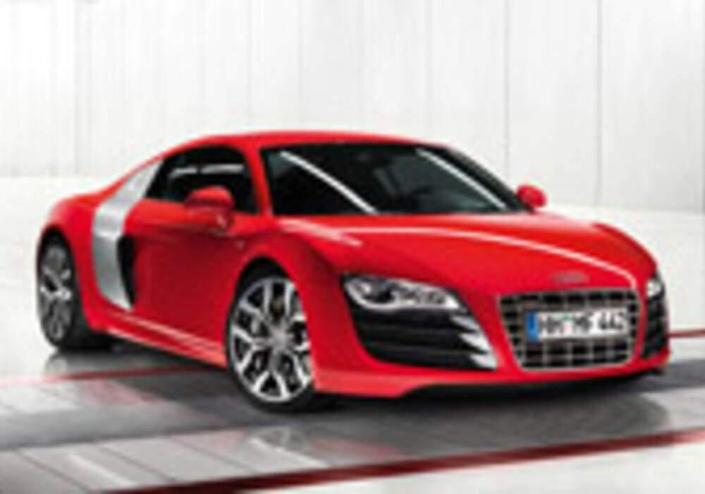 L'Audi R8 V10 dévoilée