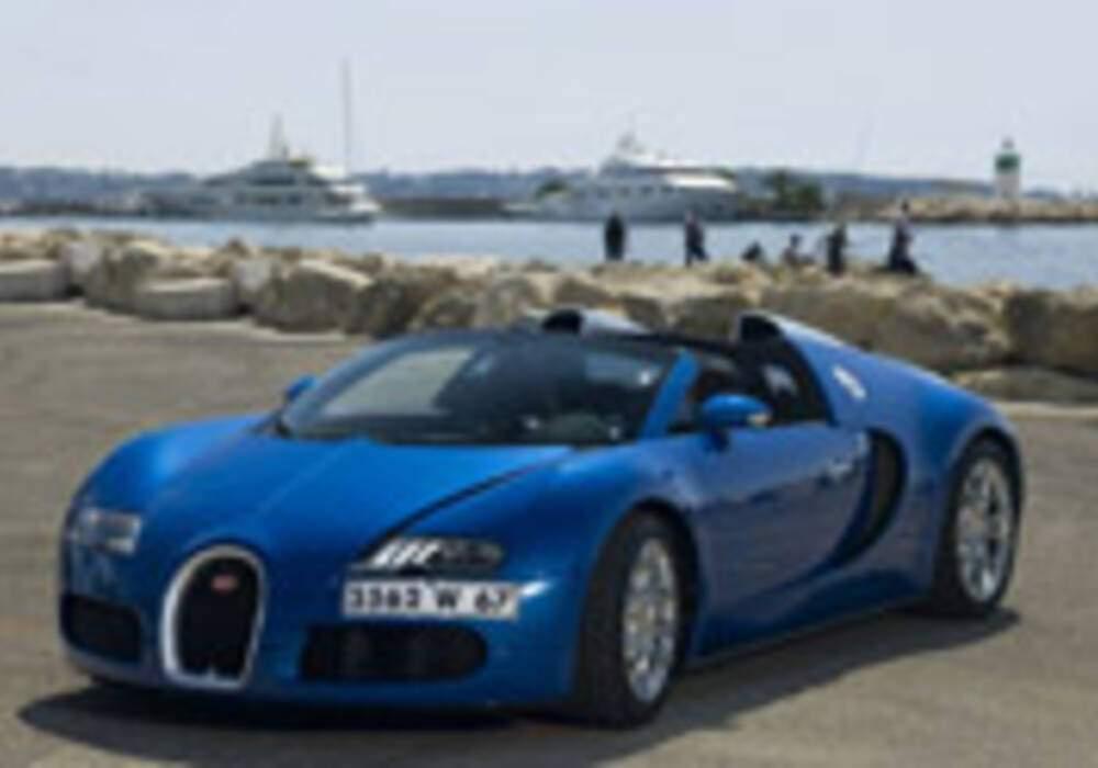 Entrée en production de la Bugatti Veyron Grand Sport