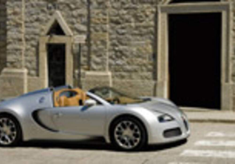 Bugatti Veyron Grand Sport : Photos en Sardaigne