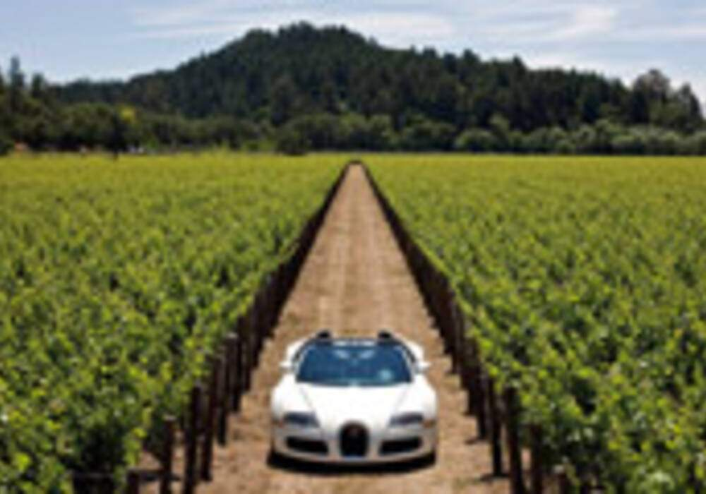 Bugatti Veyron Grand Sport : Photos en Californie