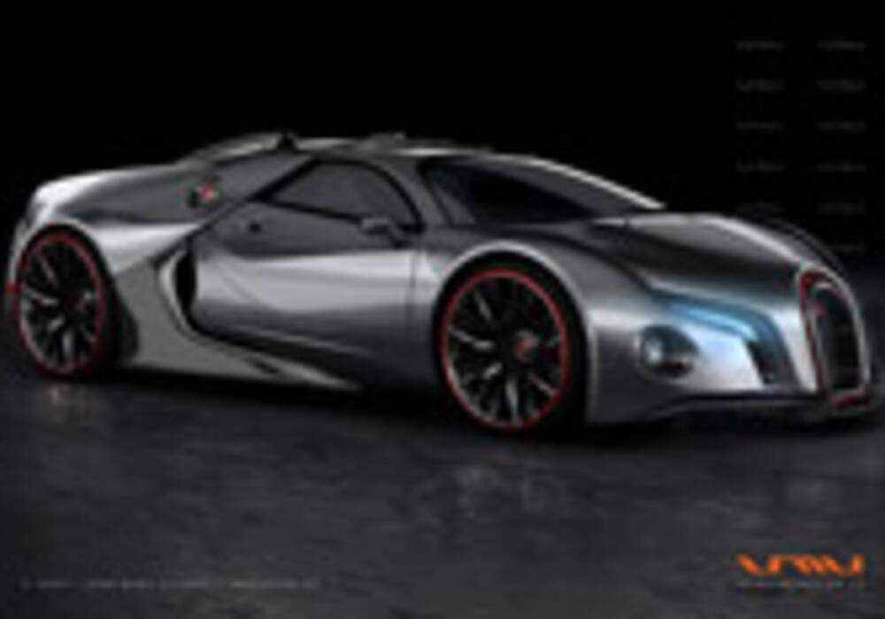 Bugatti Renaissance GT, par John Mark Vicente