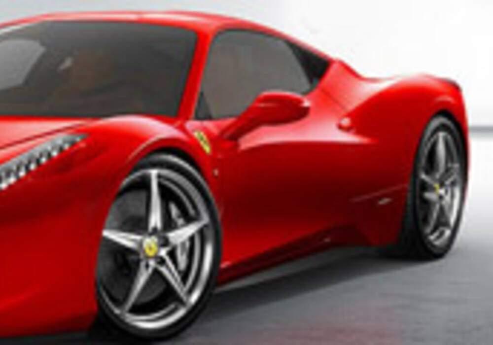 Ferrari 458 Italia: la remplaçante de la F430.