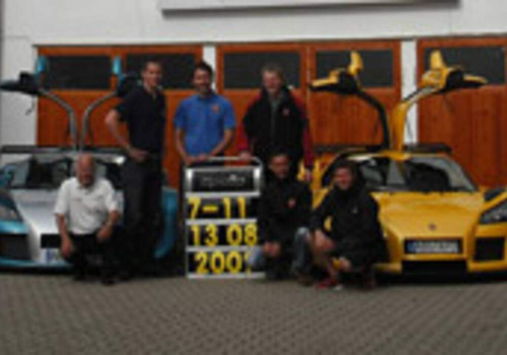 Record du tour au Nürburgring pour la Gumpert Apollo Sport