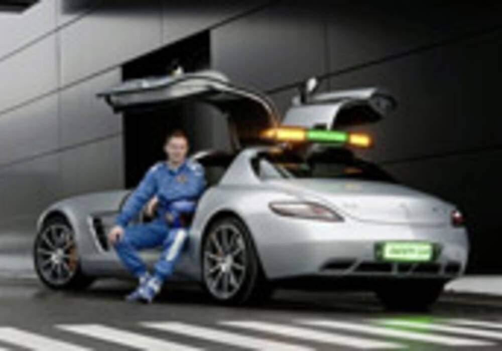 La Mercedes SLS AMG devient Safety Car