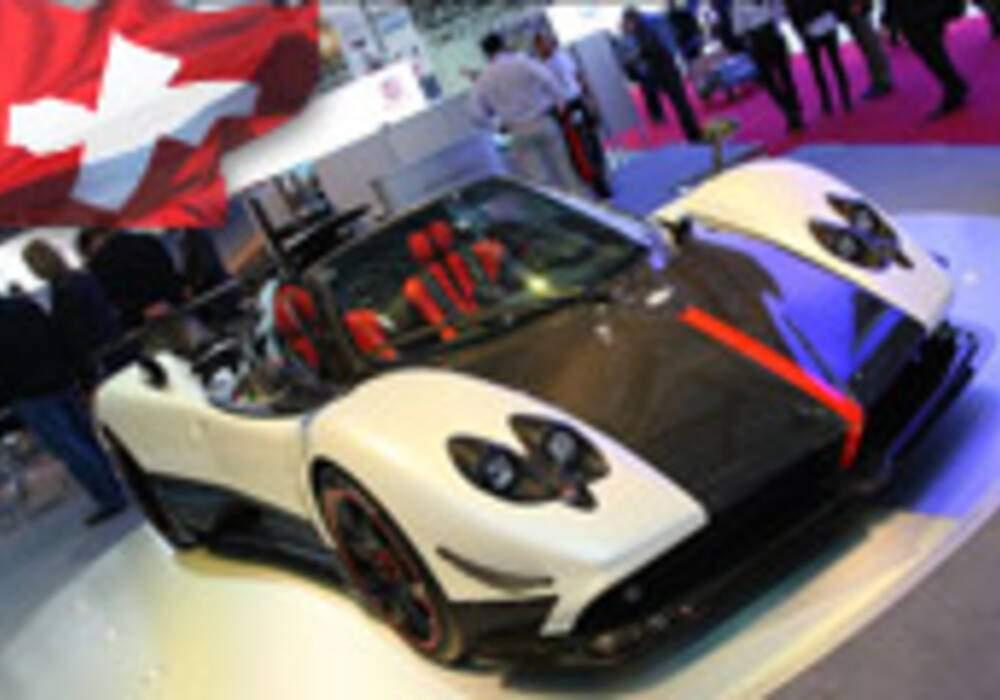 Genève Direct : Pagani Zonda Cinque Roadster