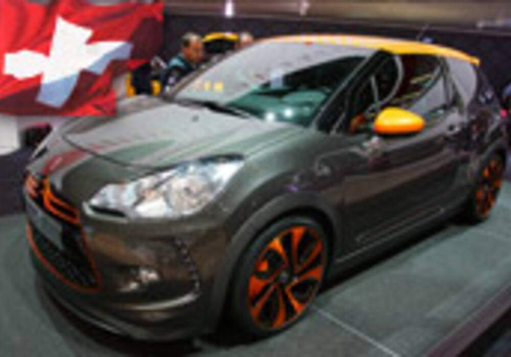 Genève Direct : Citroën DS3 Racing