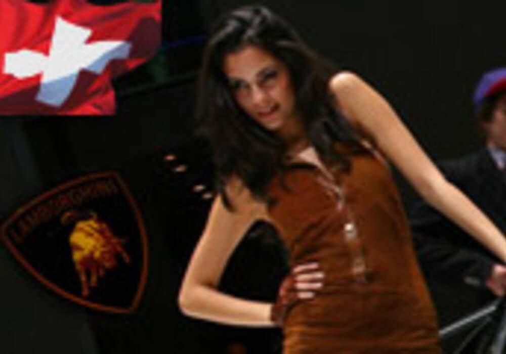 Hôtesses du salon de Genève 2010 - Partie 2