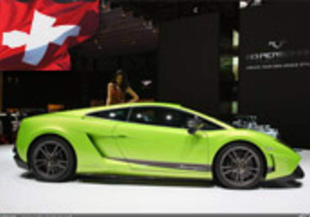 Genève Direct : Lamborghini Gallardo LP570-4 Superleggera