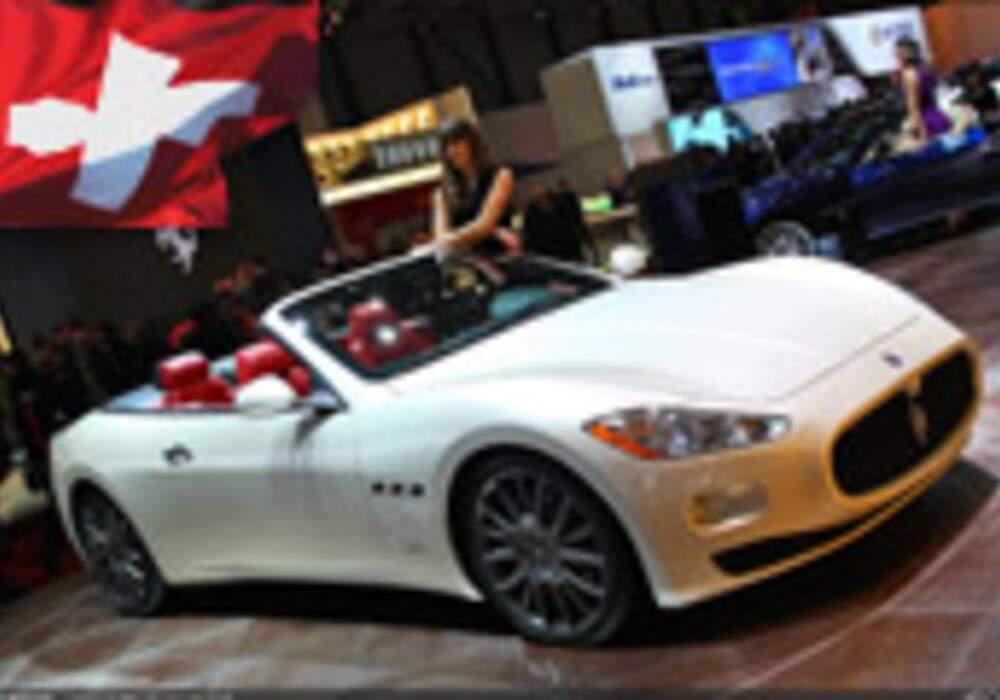 Genève Direct : Maserati GranCabrio