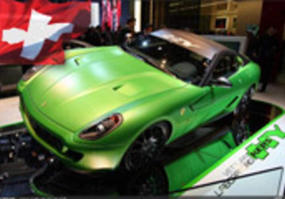 Genève Direct : Ferrari 599 HY-KERS