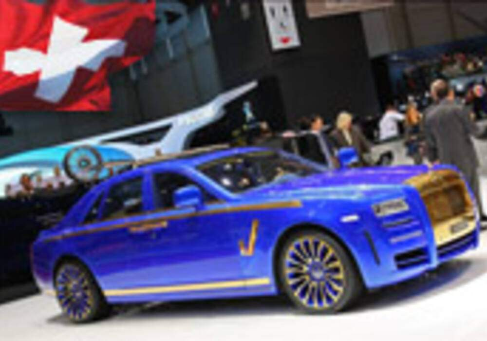 Genève Direct : Mansory Ghost