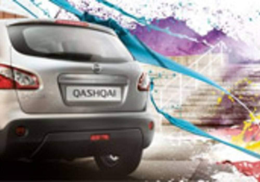 Le nouveau Nissan Qashqai joue au Paintball