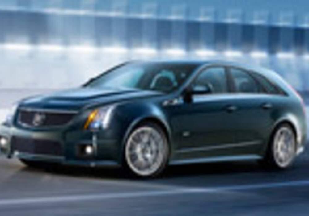 Cadillac CTS-V SportWagon, le Break Ultime