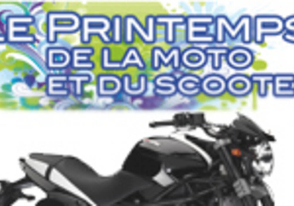 Salon : Le printemps de la moto et du scooter à Paris
