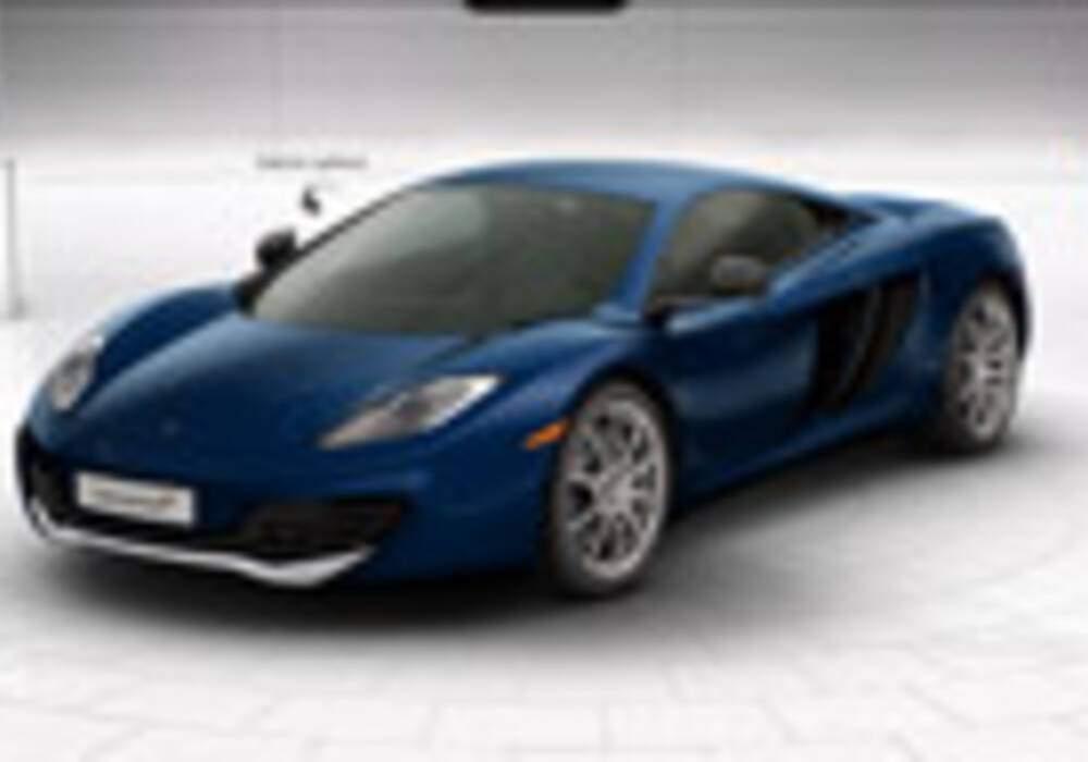 McLaren présente son configurateur MP4-12C