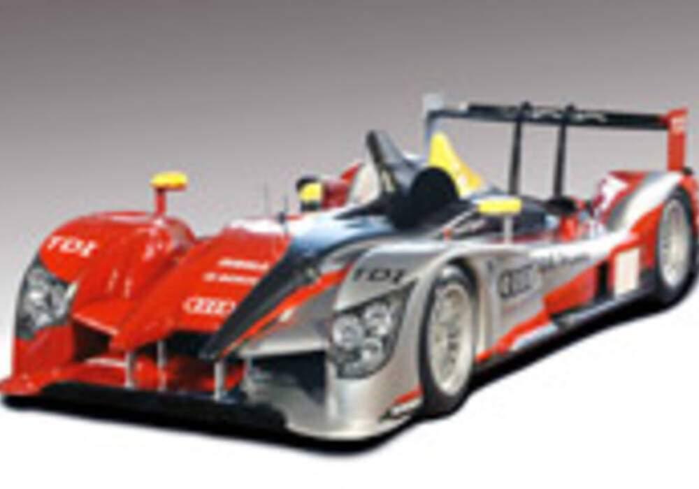 L'Audi R15 montre ses couleurs