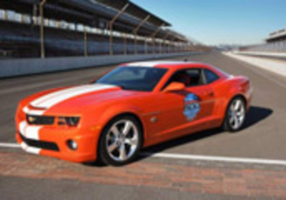 Chevrolet dévoile sa Camarao Indianapolis 500 Pace Car Limited Edition 2010