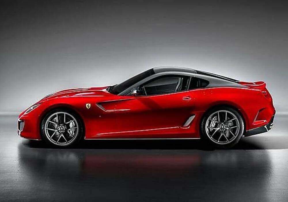Ferrari 599 GTO, les premières vidéos en piste