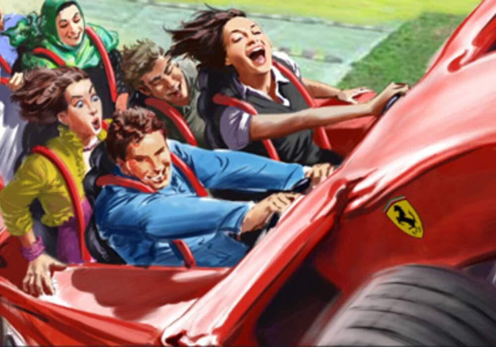 Ferrari Formula Rossa, 0 à 100 en 2 secondes